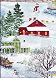 Christmas Village Farm Valance