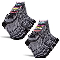 Zone In 10-20 Pack Low Cut No Show Running Ankle Athletic Socks for Women