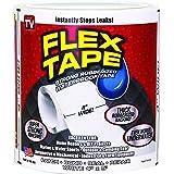 """Flex Tape Rubberized Waterproof Tape, 4"""" x 5', White"""