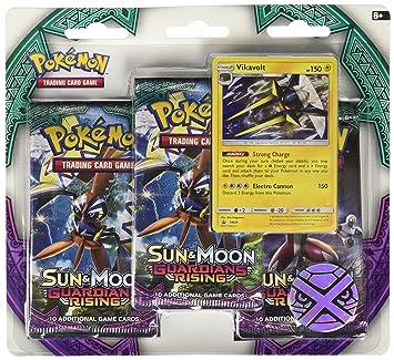Pokèmon 161 - 80216 Sol y Luna tutores Aumento Triple Pack ...