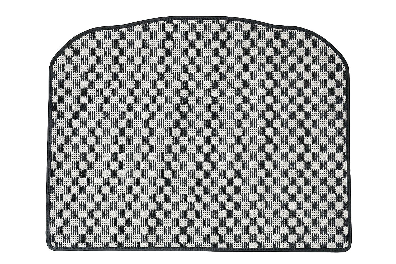 KARO(カロ) ラゲッジマット SISAL ホワイト/ブラック BMW X1(リアゲートのみ) B00NV67972 SISAL×ホワイト/ブラック SISAL×ホワイト/ブラック
