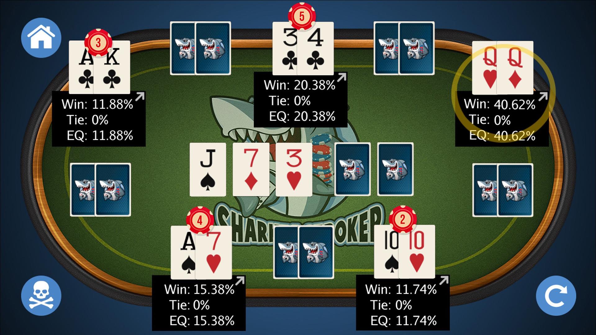 Poker holdem tools