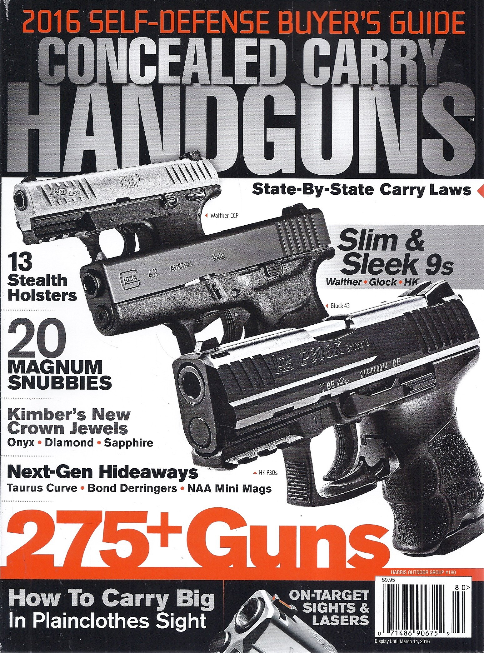 Concealed Carry Handguns 2016 Magazine (Harris Outdoor Group #180) PDF