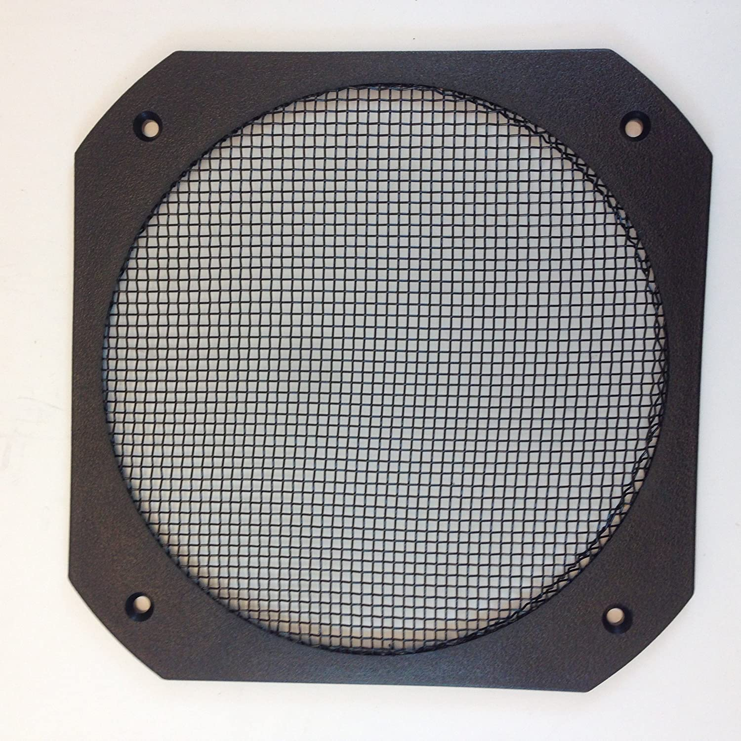"""SPEAKER GRILL 100-10/10"""" SQ. (COVERS UP TO A 100"""" HOLE) FLAT FOR FLUSH CUSTOM  LOOK!"""