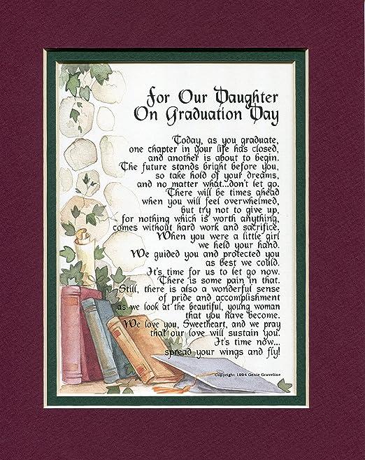 Genies Poems Une Graduation Cadeau Poème Pour Une Fille