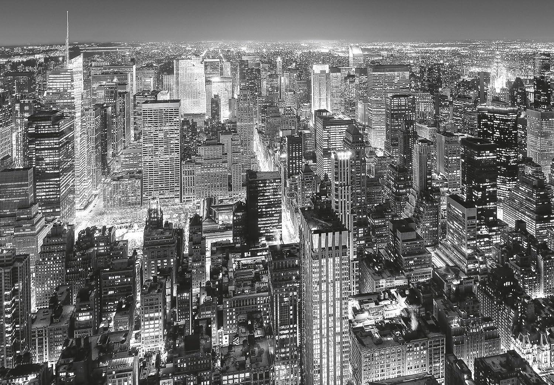 NEW YORK Manhattan 141 - 366x254cm 8 parties la colle inclus-Poster G/éant XXL- Centre de Ville USA Skyscrapes Nature Paysage Cuisine Chambre Lit Enfant Salon Papier Peint Photo Mural