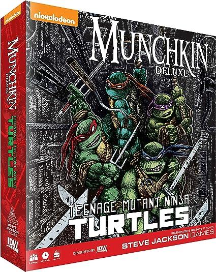 Munchkin Teenage Mutant Ninja Turtles Deluxe Card Game