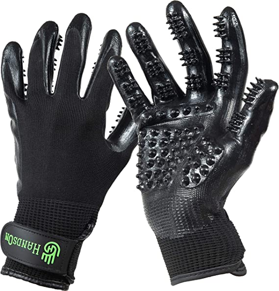 Best Deshedding Tool For Horses -Gloves