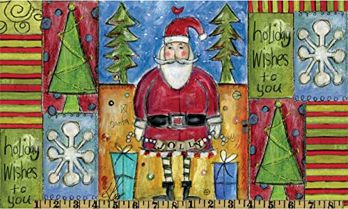 Lang Wells Street Holiday Wishes Doormat by Lisa Kaus, 30 x 18 inches 6210002