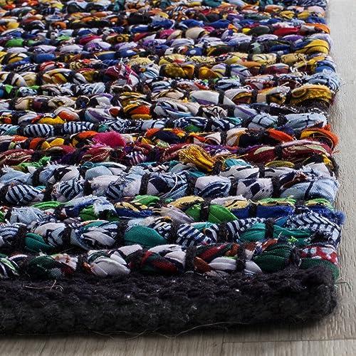 Safavieh Cape Cod Collection CAP367A Hand Woven Multicolored Jute Area Rug 3 x 5