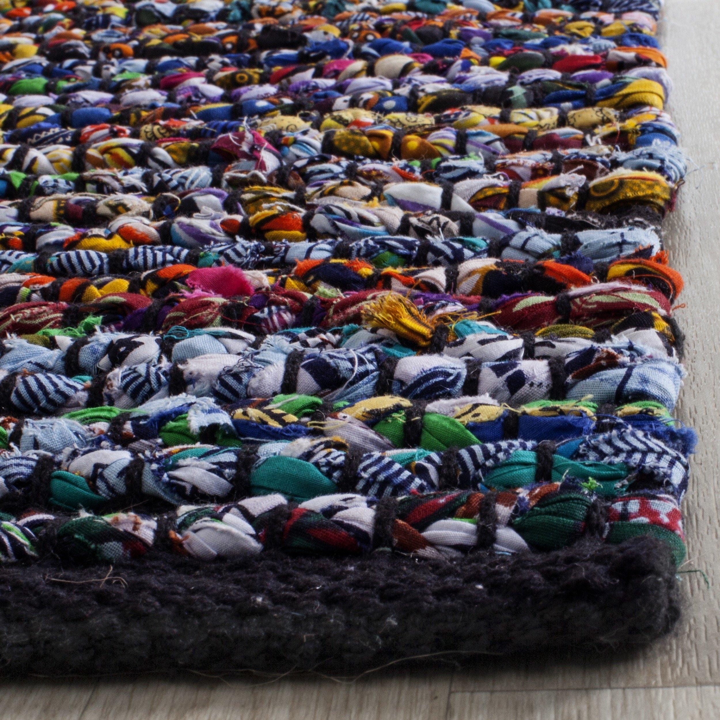 Safavieh Cape Cod Collection CAP367A Hand Woven Multicolored Jute Area Rug (2'3'' x 4')