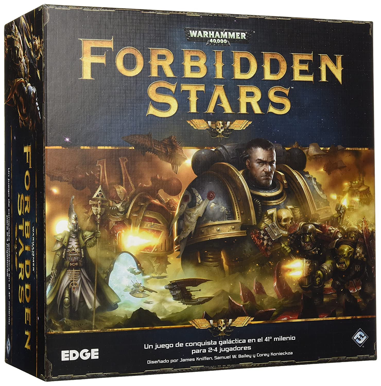 Forbidden Stars Edge Entertainment, Juego de Mesa (EDGWFS01)