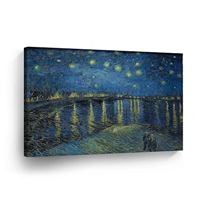 fdd4c0c512 Amazon.com  Vincent Van Gogh Starry Night Over The Rhone