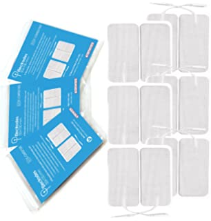 TensCare E-CM50100 - Almohadillas para electrodos (50 x 100 mm, 4 electrodos