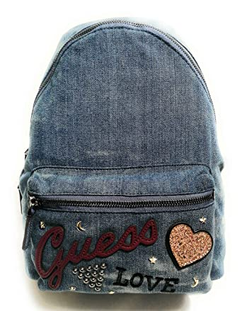 Guess Urban Sport Backpack DENIM: : Schuhe