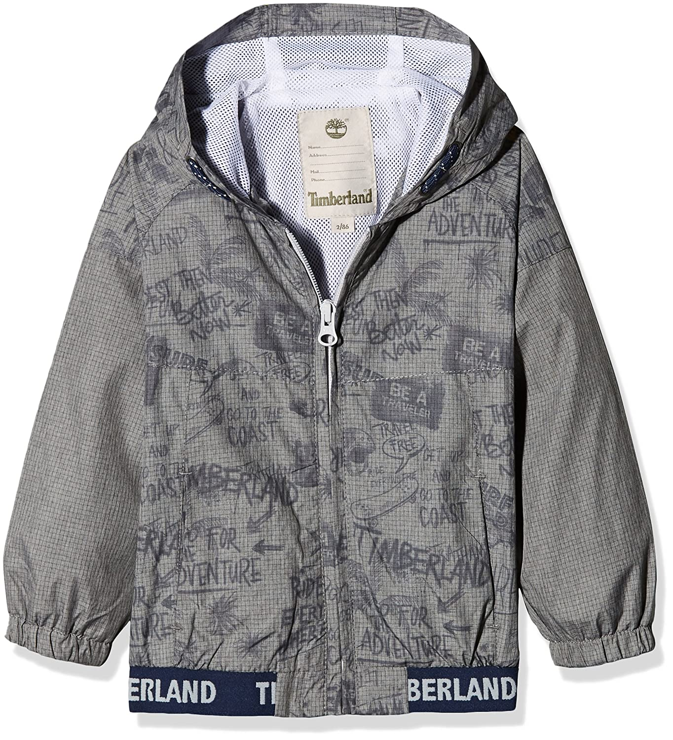 Timberland Baby Boys' Coupe-Vent a Capuche Rain Jacket T06364