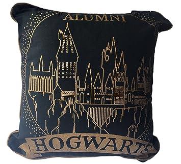 Primark Home Coussin Harry Potter Blason Poudlard 40 x 40 cm, noir doré, eebda70eeea9