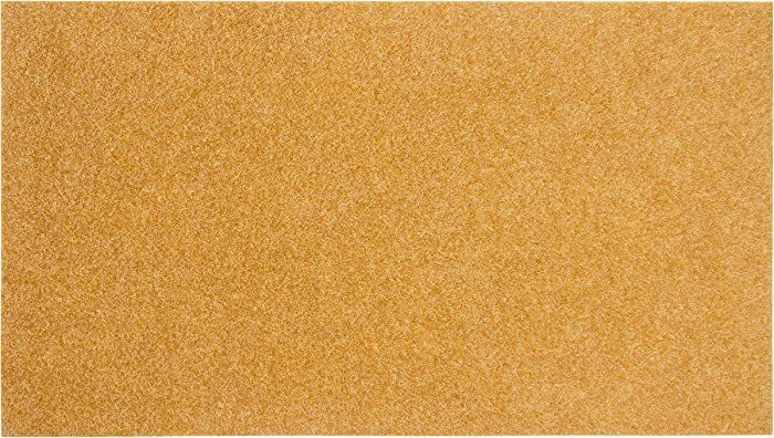 KAF Home EcoCoir Non-Shed Synthetic Doormat with Heavy-Duty, Weather Resistant, Non-Slip PVC Backing | 17 by 30 Inches | Perfect for Indoor and Outdoor Use (Blank)