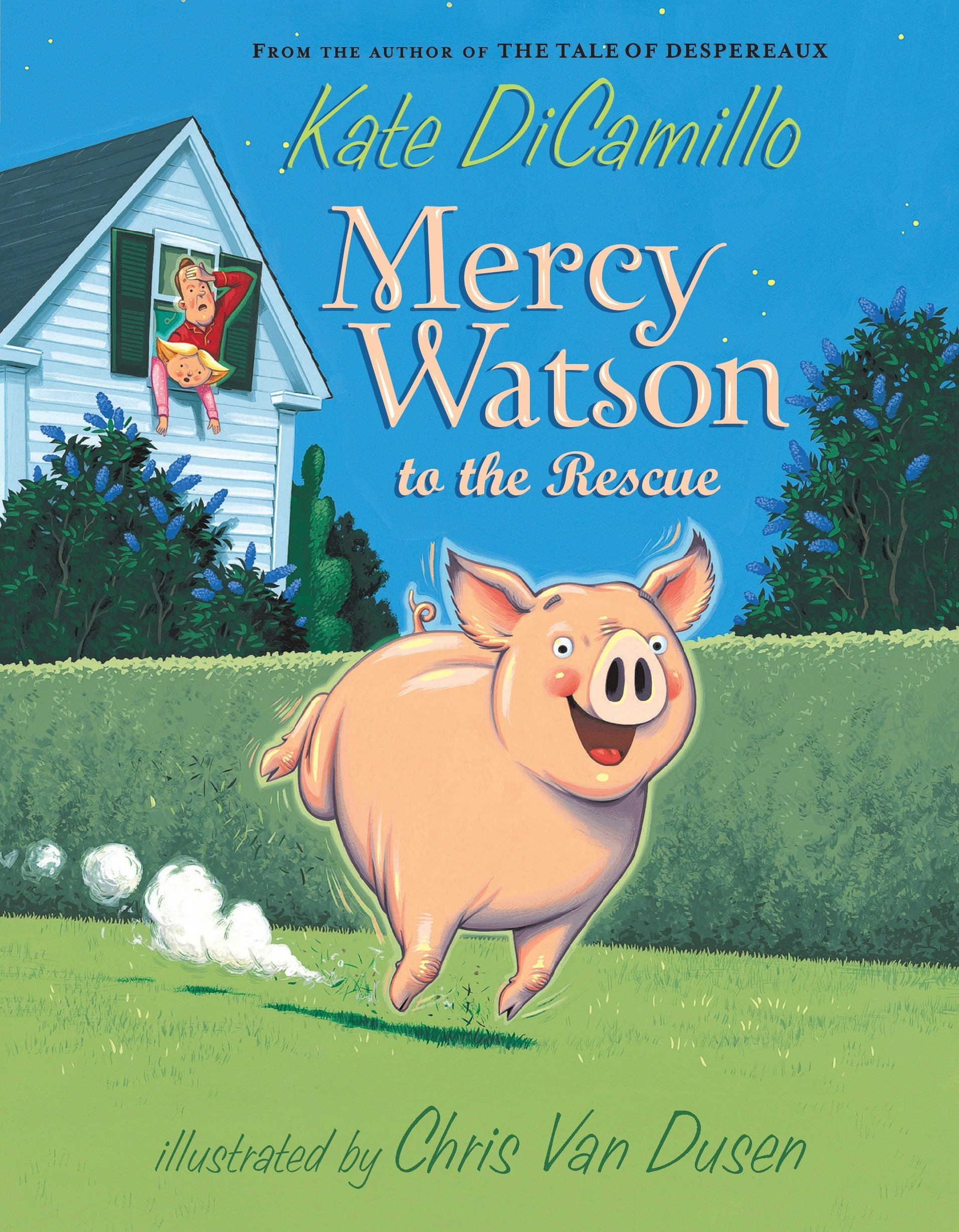 The Best Chapter Books for 1st Graders featured by top Seattle lifestyle blogger, Marcie in Mommyland: Mercy Watson