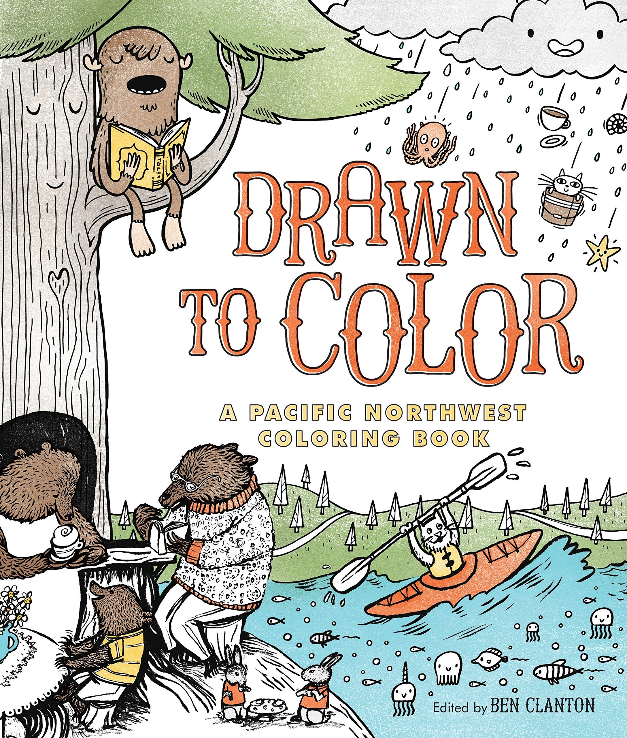 Drawn to Color: A Pacific Northwest Coloring Book pdf epub