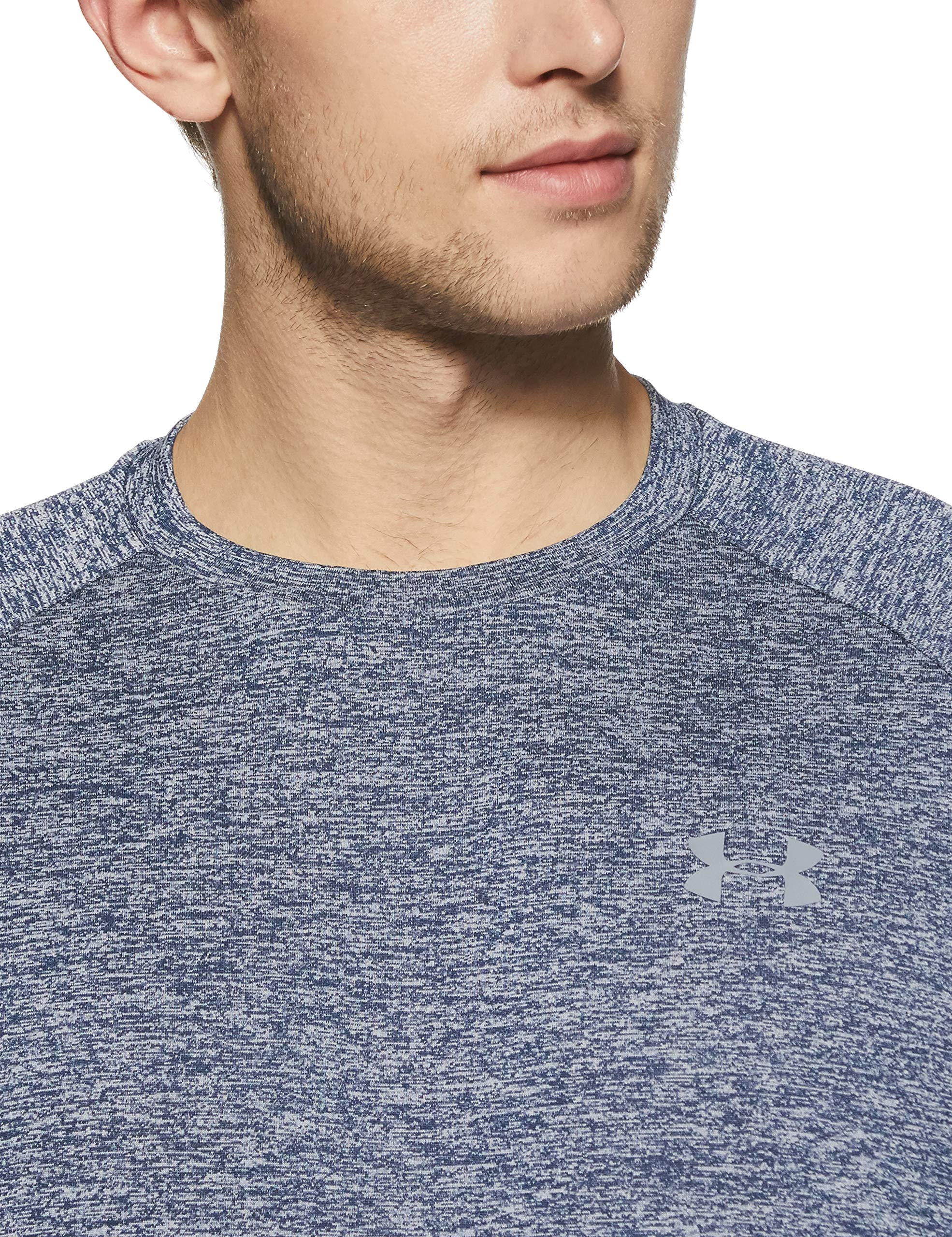 Under Armour Men's Tech 2.0 Short Sleeve T-Shirt, Academy (409)/Steel, 3X-Large by Under Armour (Image #4)