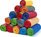 Fit-Flip Microfibre Towel + Bag – Beach Towel, Sport Towel, Large XL Gym Towel