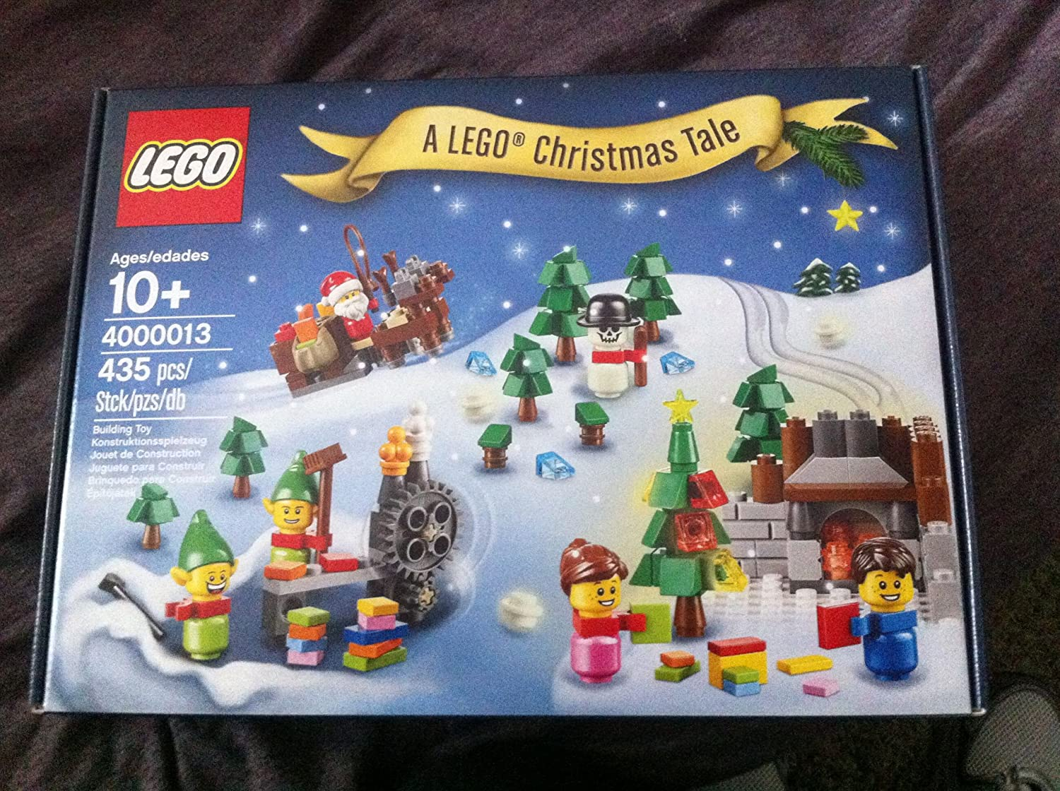 LEGO A Christmas Tale 2013, 4000013, 435 Pieces