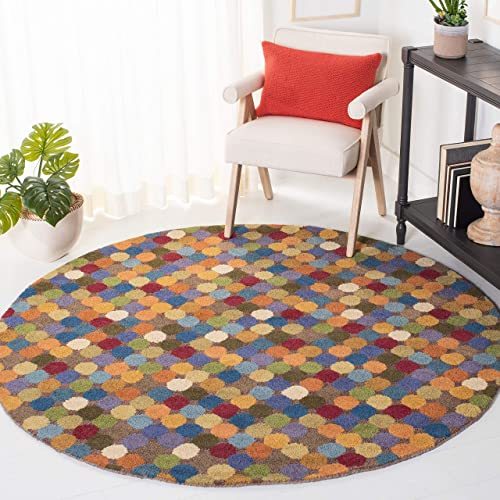 Cheap Safavieh Soho Collection SOH922A Handmade Abstract Premium Wool Area Rug living room rug for sale