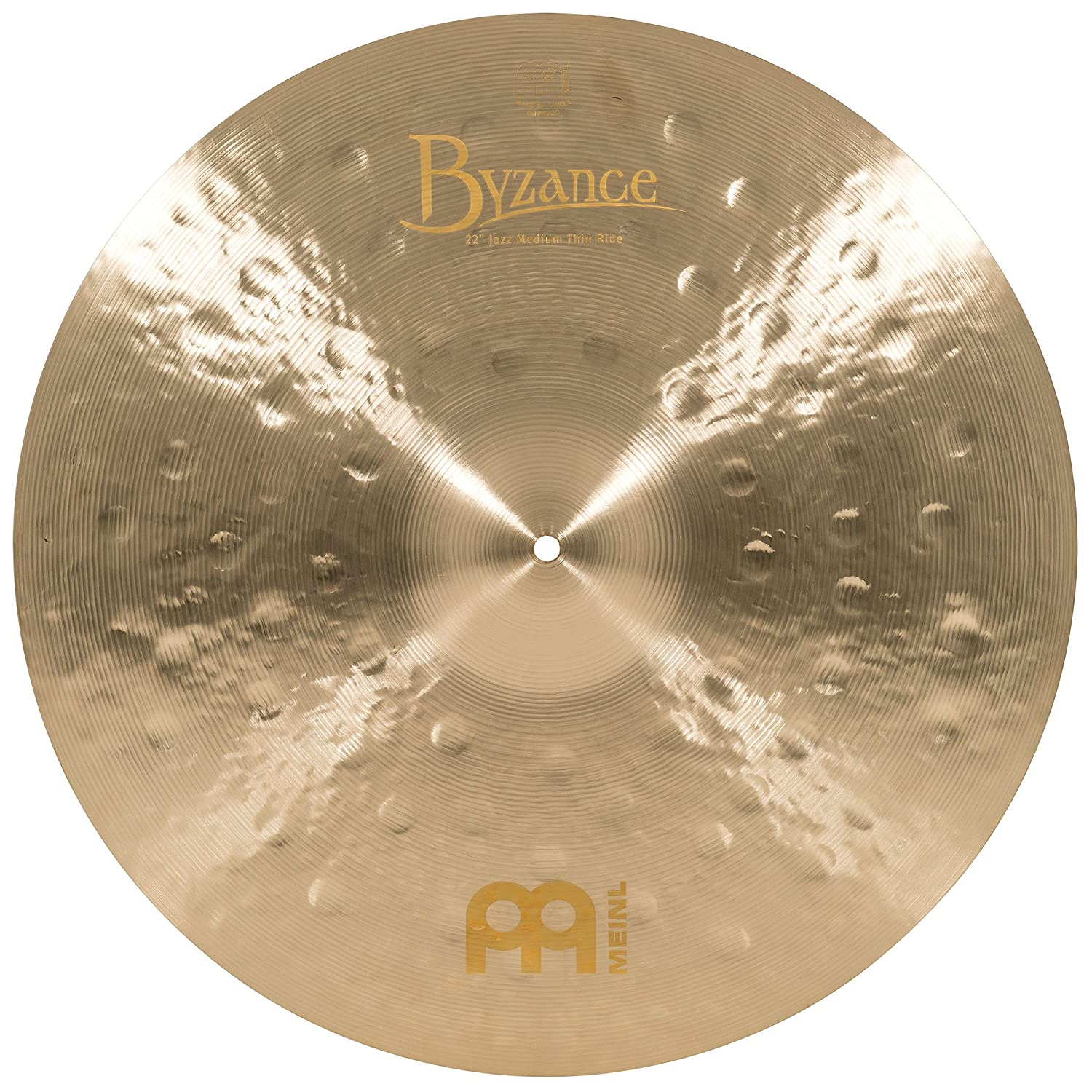 Meinl Cymbals B22JMTR Byzance 22-Inch Jazz Medium Thin Ride Cymbal (VIDEO) Meinl USA L.C.