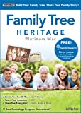 Family Tree Heritage Platinum 9 - Mac [Download]
