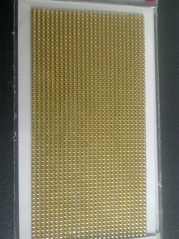 Gold Brilliant Efco Wax Strips Pearl 200 x 2 mm 27 pcs