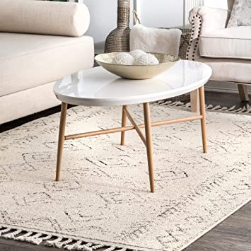 Nuloom Meredith Moroccan Area Rug 5 X 8 Ivory Amazon Ca Home Kitchen