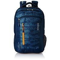 American Tourister Polyester 28 Ltrs Blue Laptop Backpack (AMT TECH GEAR LAPTOP BP 03-BLU)