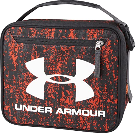 Black Under Armour Thermos Cooler Bag Insulated Lunch Box School