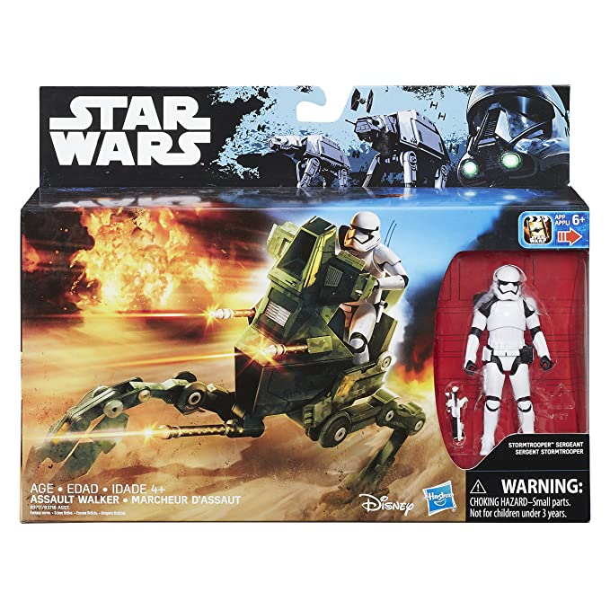 Star Wars Disney The Force Awakens 3.75-Inch Vehicle Assault Walker New in Box