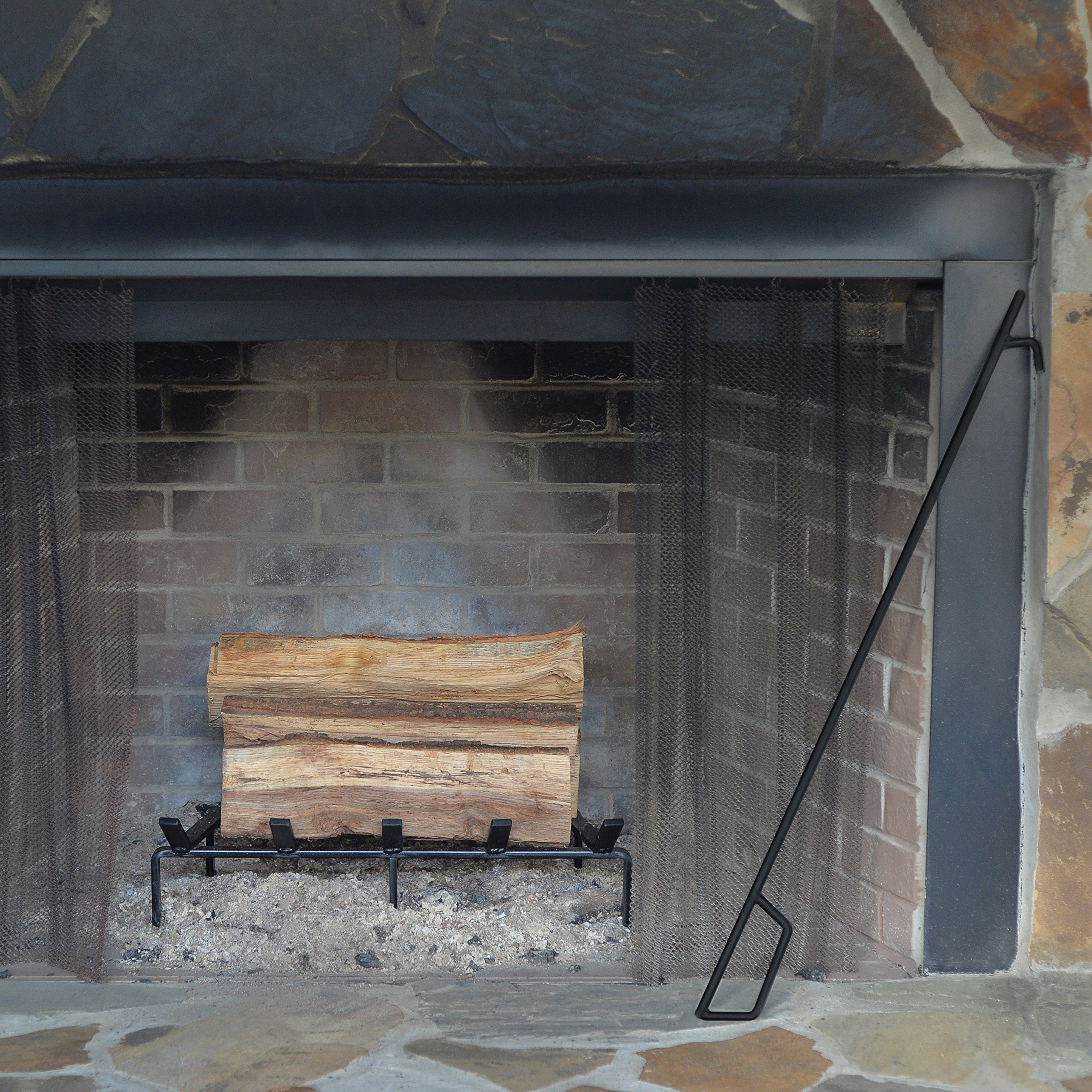 Heritage Products 24 Inch Heavy Duty Fire Poker - Made in the USA by Heritage Products (Image #3)