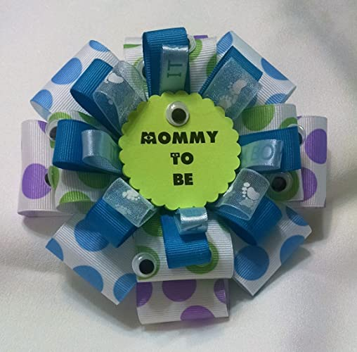 Baby Shower Corsage   Monsters Inc. Mommy Corsage   Mommy To Be Badge   6