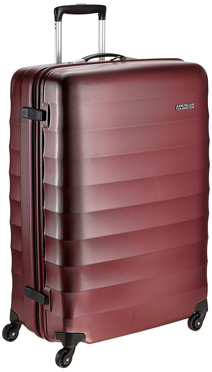 fe515b448 American Tourister Polyester 79 cms Crimson Red Hardsided Suitcase (71W (0)  10 003): Amazon.in: Bags, Wallets & Luggage