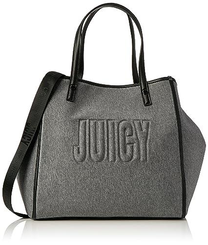 Amazon.com  Juicy by Juicy Couture Womens Arlington Tote Grey (Grey Marl)   Shoes 10be03296