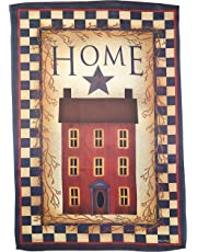 Carson Home Accents Trends Classic Large Flag, Saltbox Home
