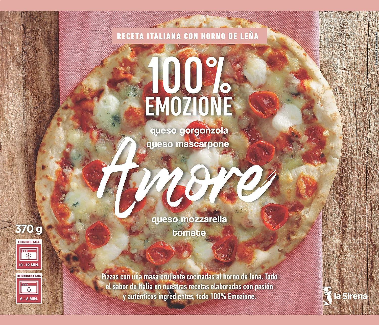 La Sirena Pizza Amore de queso Gorgonzolla, Mascarpone y Tomate 370 gr.: Amazon.es: Alimentación y bebidas
