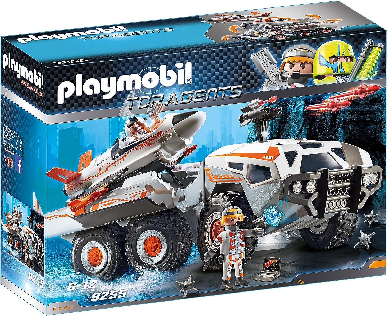 PLAYMOBIL Agentes Secretos-9255 Camión Spy Team, Multicolor, Sin tañosllaños (9255)