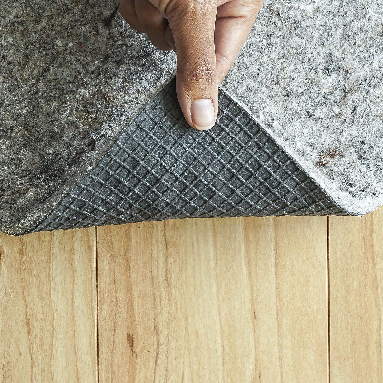2x3 1//4 Thick Felt and Rubber Rug Pad USA Superior Lock- Premium Non Slip Rug Padding for Hardwood Floors 1//4 Thick 2/'x3/' RUGPADUSA COMIN18JU047746