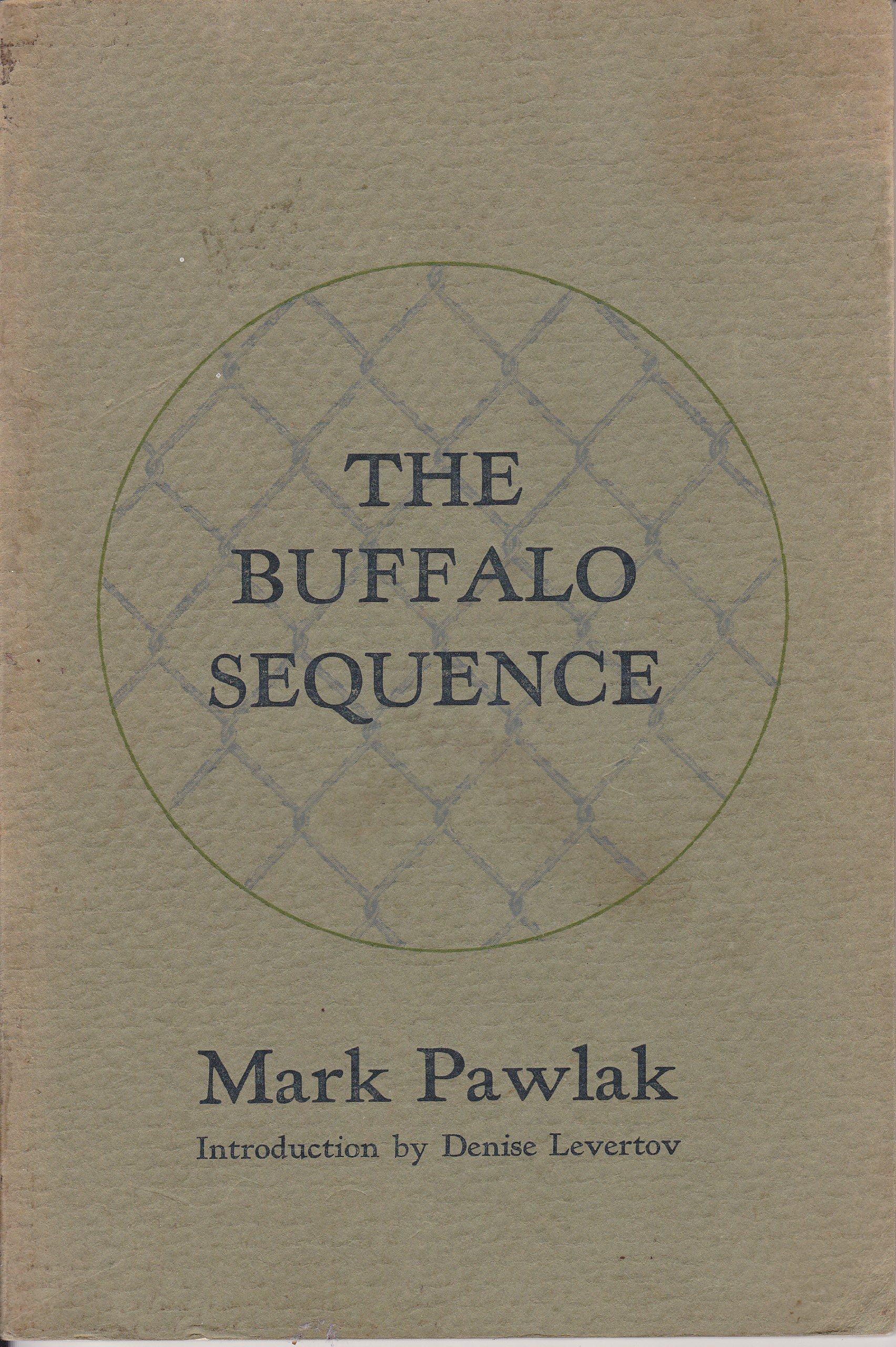 Buffalo Sequence & Other Poems, Pawlack, Mark