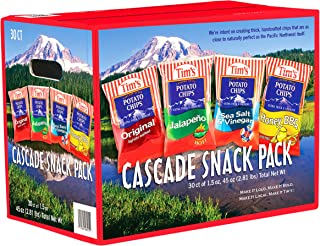 product image for Tim's Cascade Style Potato Chips, Variety Pack, 30 Count