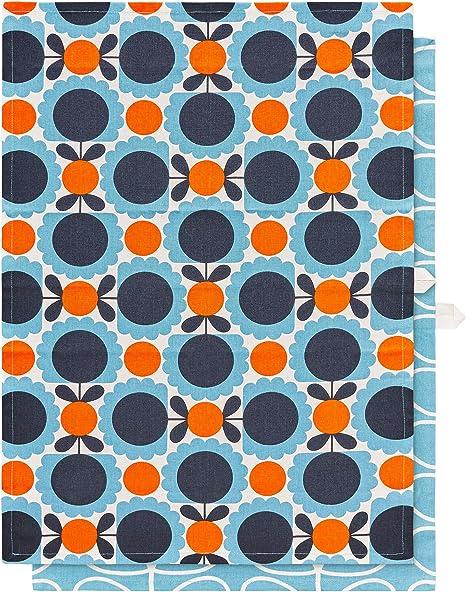 Orla Kiely OK669 Trapos de cocina, algodón: Amazon.es: Hogar