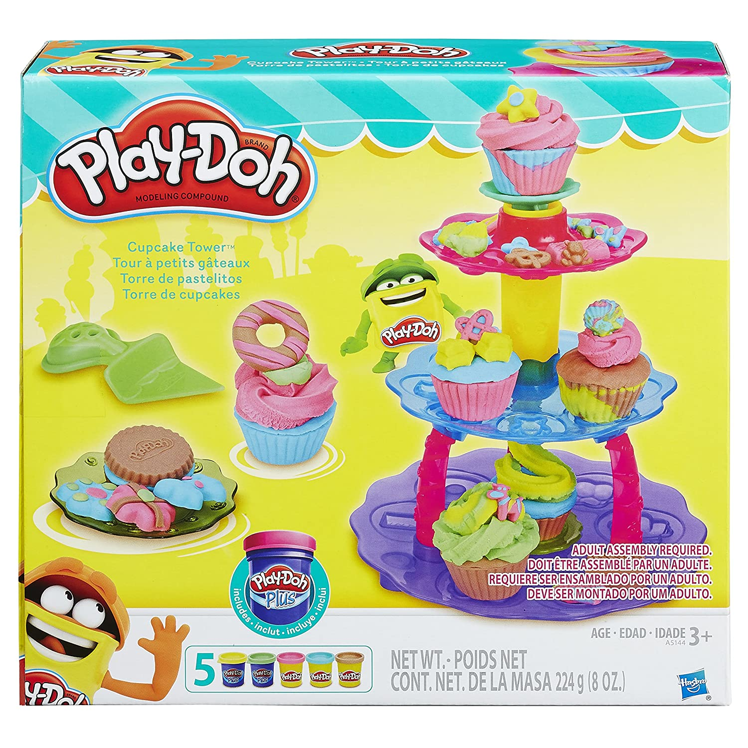 Play Doh Kitchen Creations Cupcake Tower PD A5144AS0