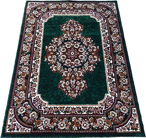 Carpet-Floral-Persian-Oriental-Woven-8×11-Area-Rug-H-Green-Actual-Size-710×10 Area Rug Set