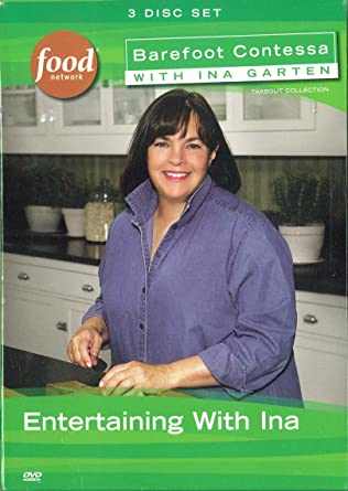 Amazoncom Barefoot Contessa With Ina Garten Entertaining With Ina