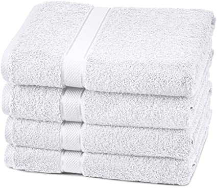 Pinzon Egyptian Cotton Bath Towel Set 4 Pack